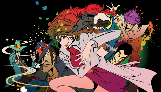 Lupin III a woman named Fujiko Mine Dual Audio